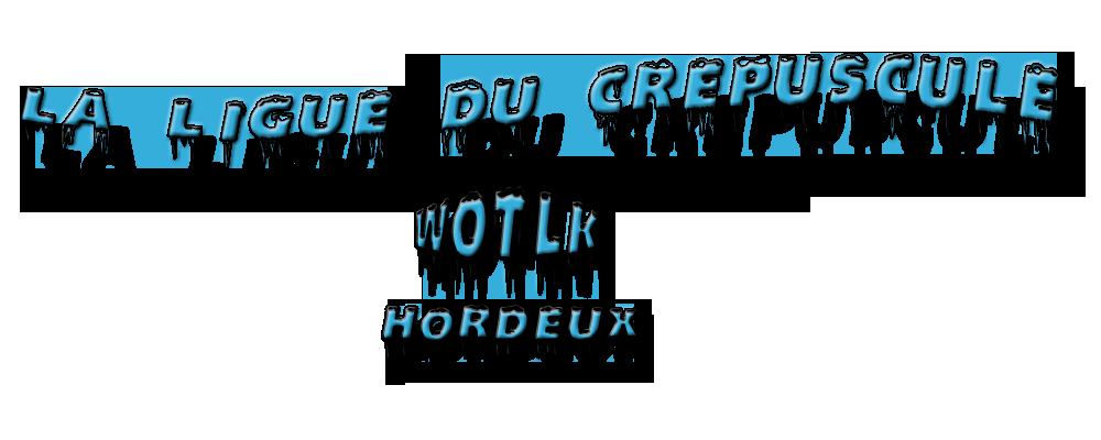 La Ligue Du Crepuscule Index du Forum