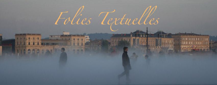 Folies Textuelles Index du Forum