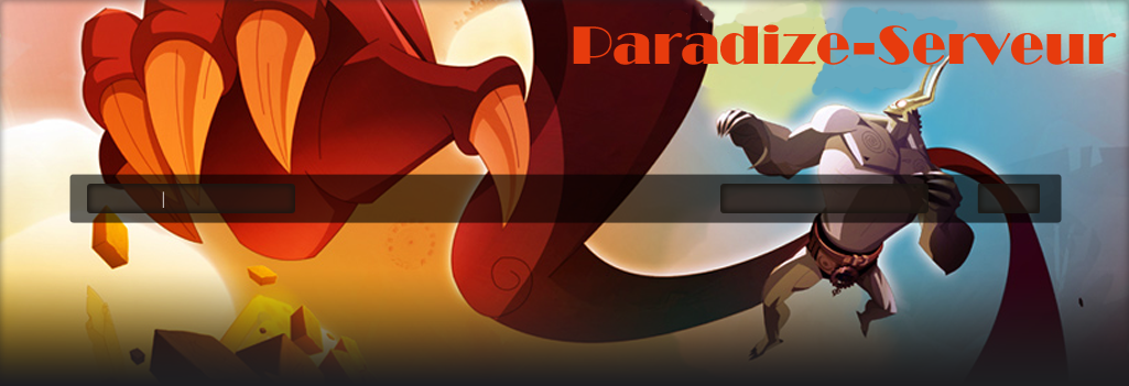 paradize-serveur Index du Forum