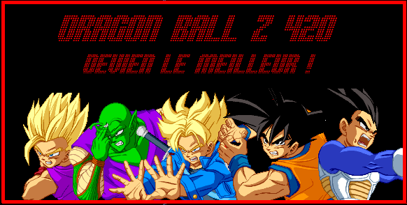 Dragon Ball Z 420 Index du Forum