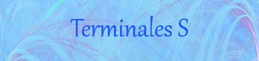 TerminaleS Index du Forum