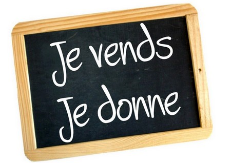 je vends je donne, le forum Index du Forum