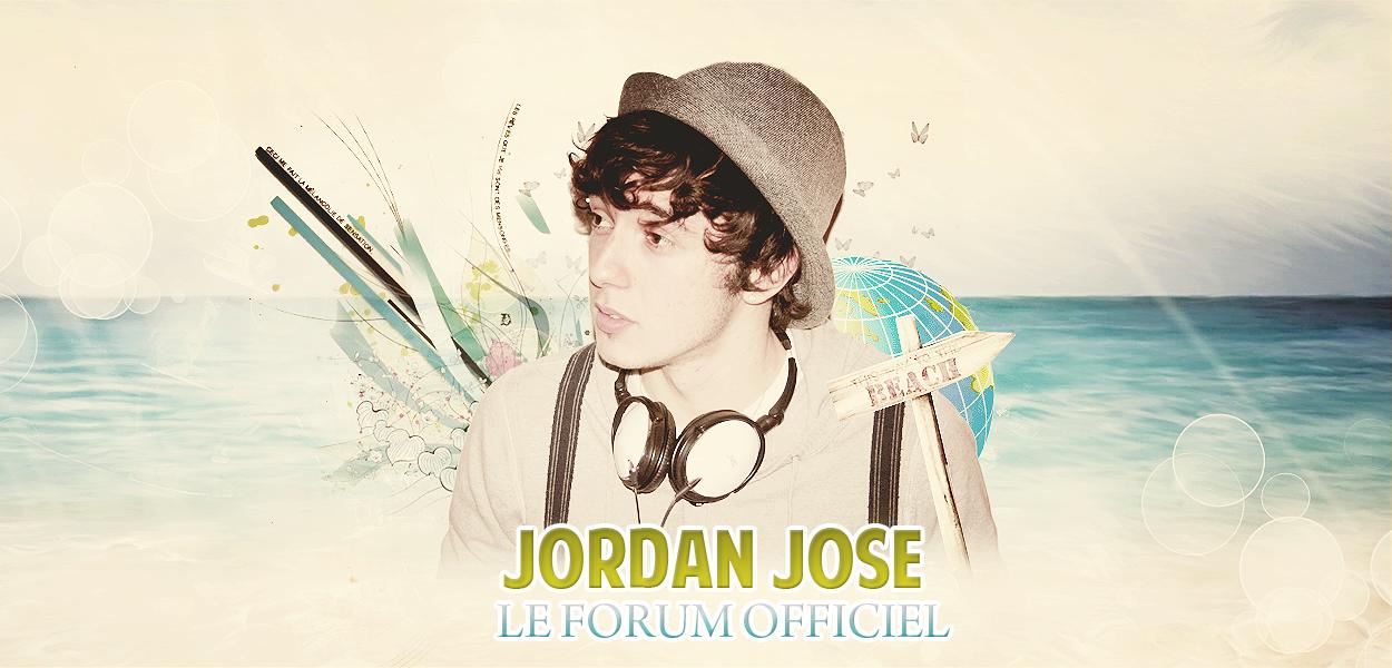 FORUM OFFICIEL DE JORDAN JOSE  Index du Forum