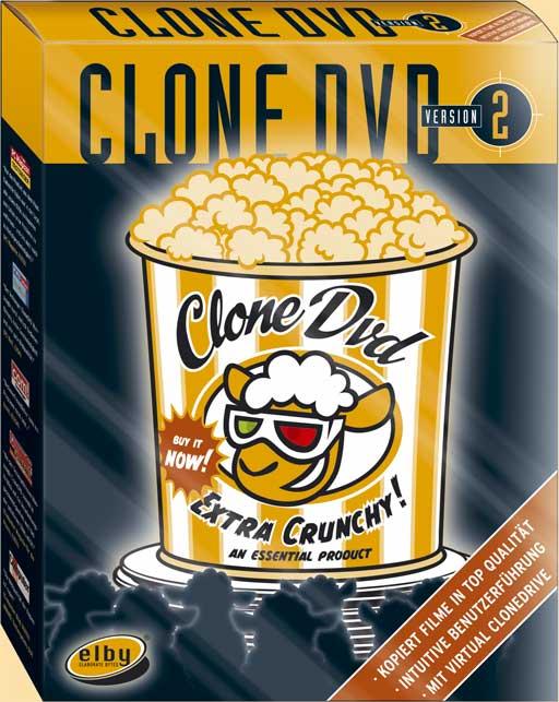Elby CloneDVD - одна из лучших программ для клонирования DVD дисков