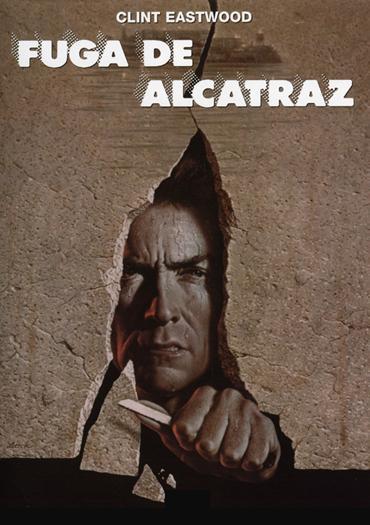 Cartel de la pelicula La fuga de Alcatraz