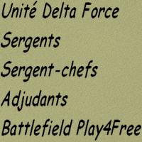 sergents, sergent-chefs et adjudants