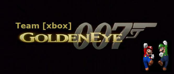 la team [xbox] sur goldeneye 007 Index du Forum