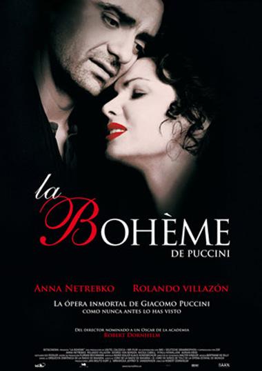 Poster de La Bohème