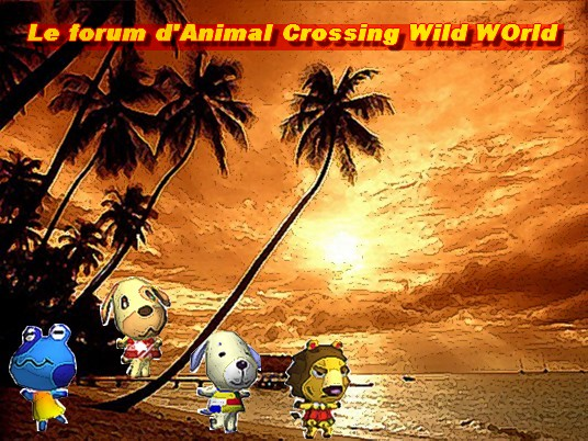 Animal Crossing Wild World Index du Forum