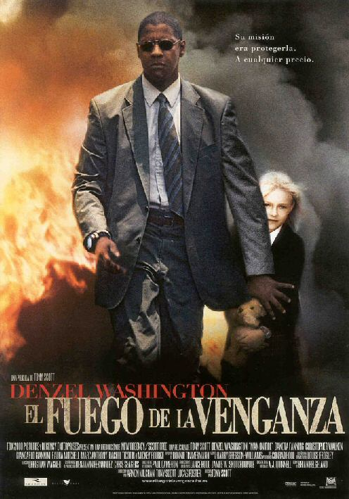 Cartel de la pelicula El fuego de la venganza