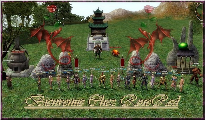 Forum de la guilde RoseRed Index du Forum