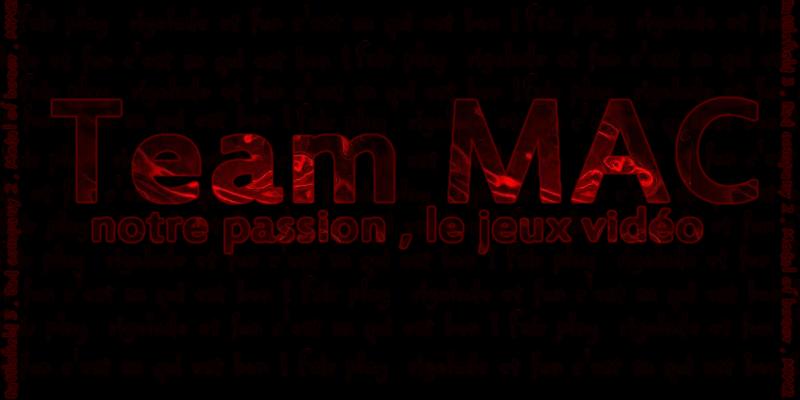team mac Index du Forum