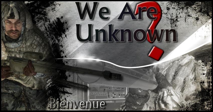 we are unknown Index du Forum