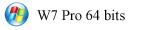 PC Windows 7 Pro 64 bits