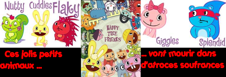 Happy Tree Friends Forum Index du Forum