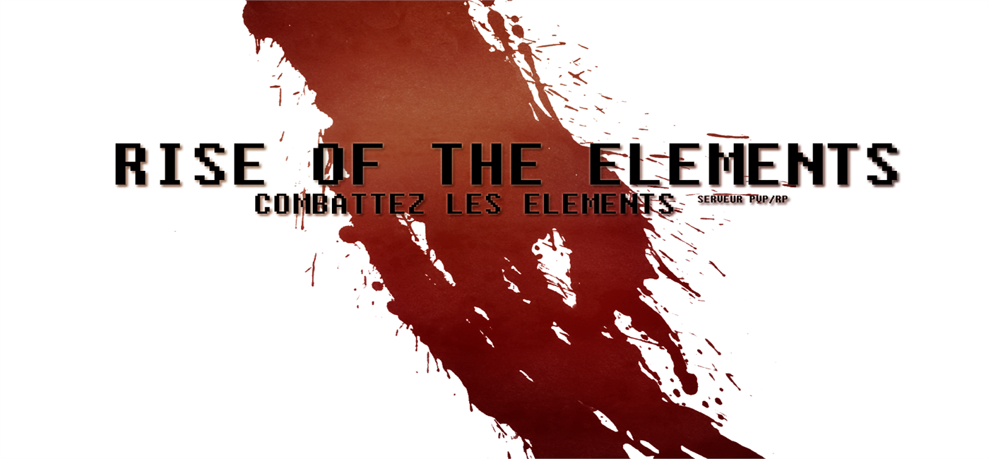 Rise of the elements Index du Forum