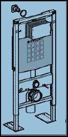 fixation wc suspendu geberit dans placo. Black Bedroom Furniture Sets. Home Design Ideas