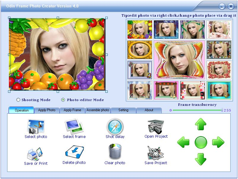 Программы. . Скачать Frame Photo Creator 5.5.4 Software + Serial Key.