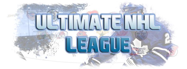Ultimate NHL League Index du Forum