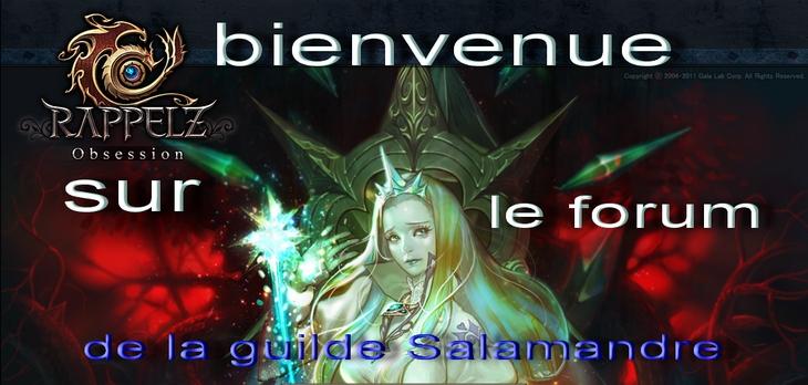 la guilde des  salamandres  Index du Forum