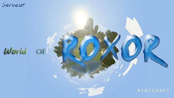 minecraft-roxor Index du Forum