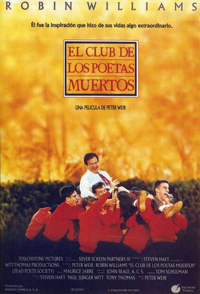 Poster de El club de los poetas muertos