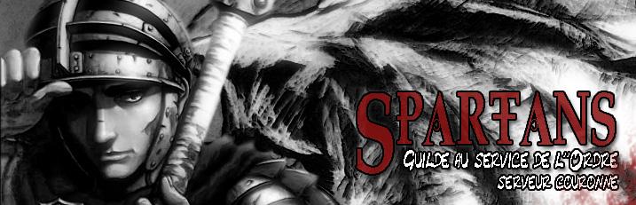 Forum de la Guilde Spartans serveur Couronne Index du Forum