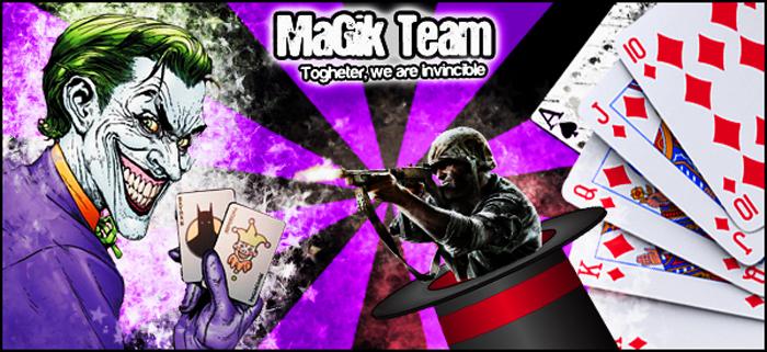 Team MaGik Index du Forum