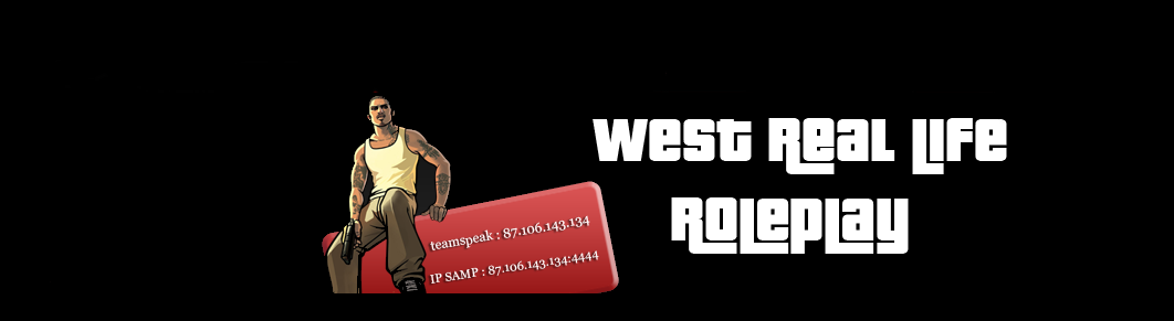West Real Life RolePlay Index du Forum