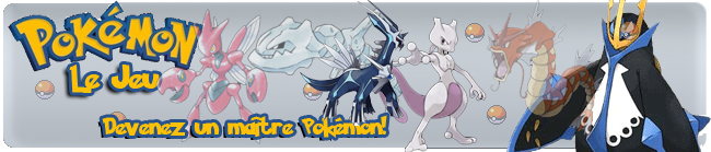 Pokemon le jeu Index du Forum