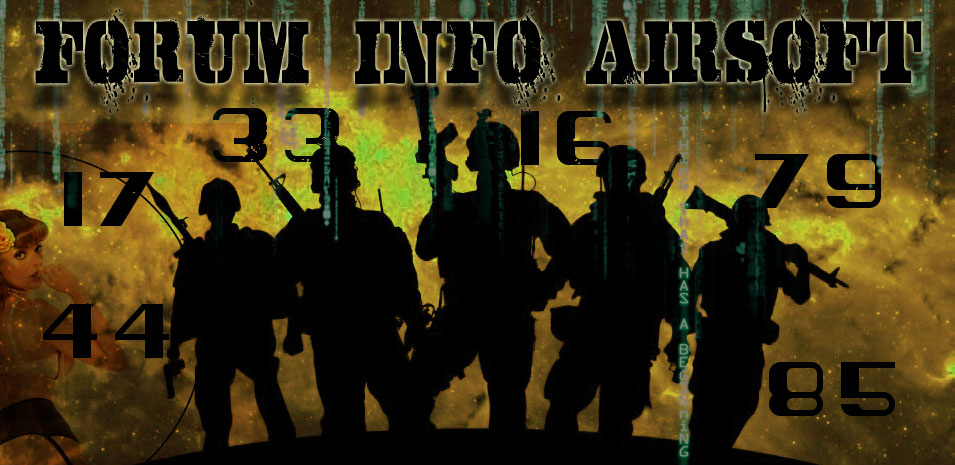 forum info airsoft 17/16/79/33/44/85 Index du Forum
