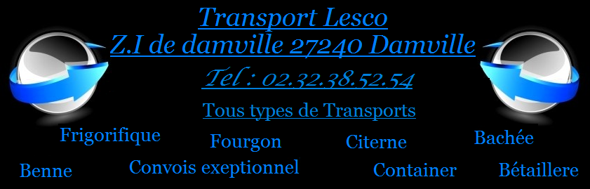 transport lesco Index du Forum