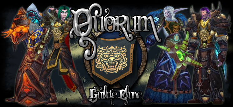Quorum Guilde Elune Index du Forum